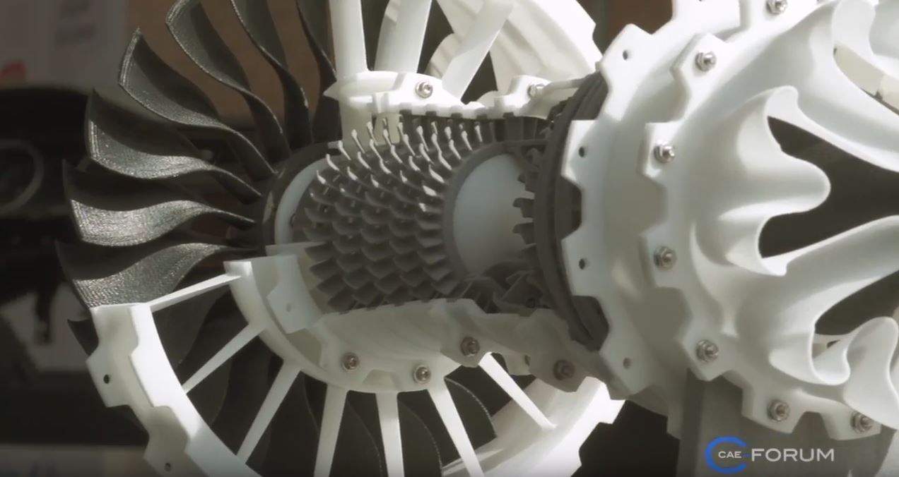 Turbine, 3D Druck / Rapid Prototyping